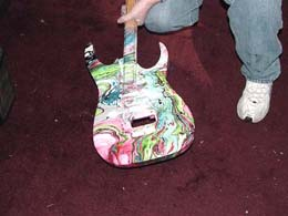 технология покраски гитар свирлинг